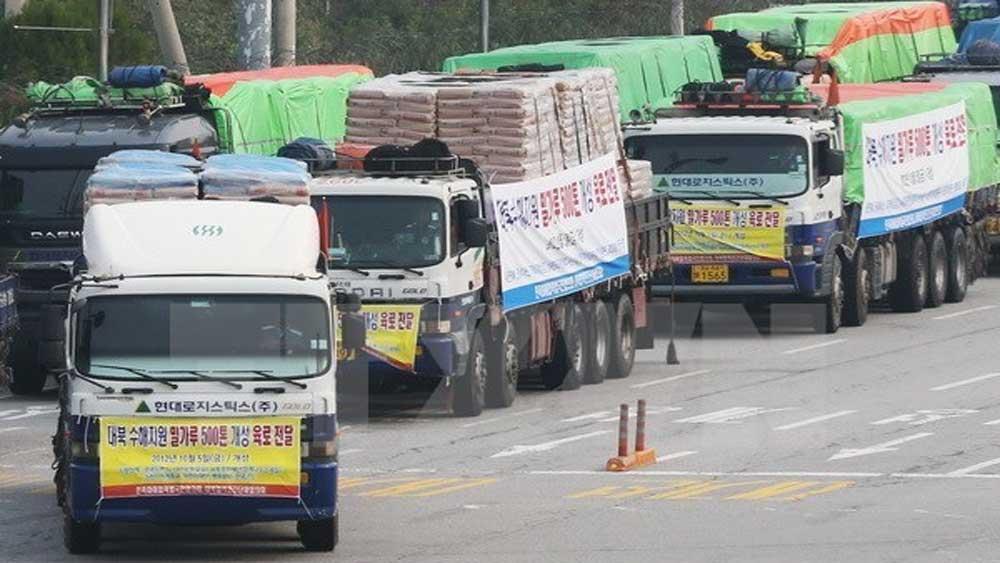 Bộ Thống nhất Hàn Quốc, cam kết, viện trợ nhân đạo cho Triều Tiên