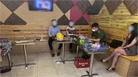 Một quán karaoke ở Tân Yên vi phạm phòng dịch Covid-19