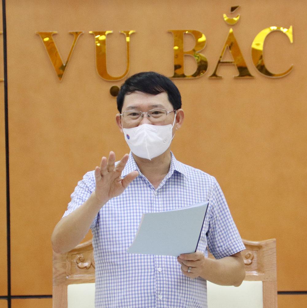 Bắc Giang, chủ tịch tỉnh, làm việc, sở nội vụ, Lê Ánh Dương.