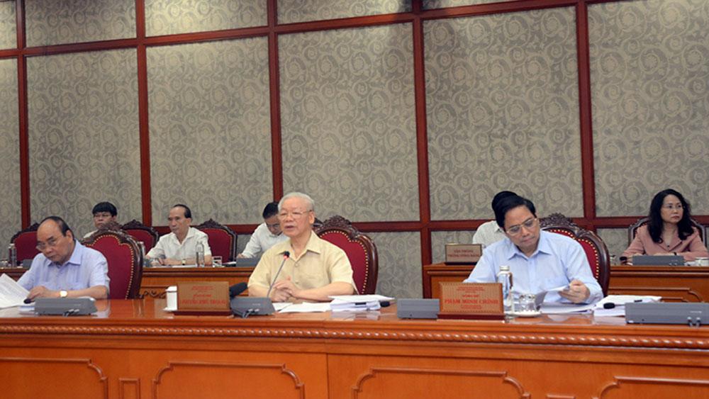 Bộ Chính trị họp, cho ý kiến về các nội dung phát triển kinh tế - xã hội