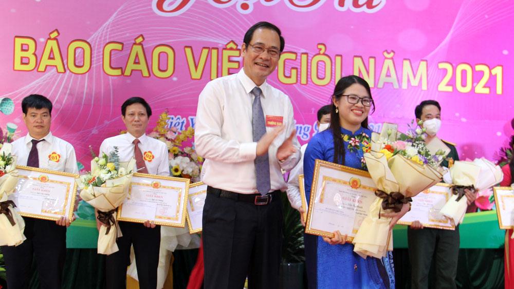 Bắc Giang, Việt Yên, báo cáo viên, hội thi