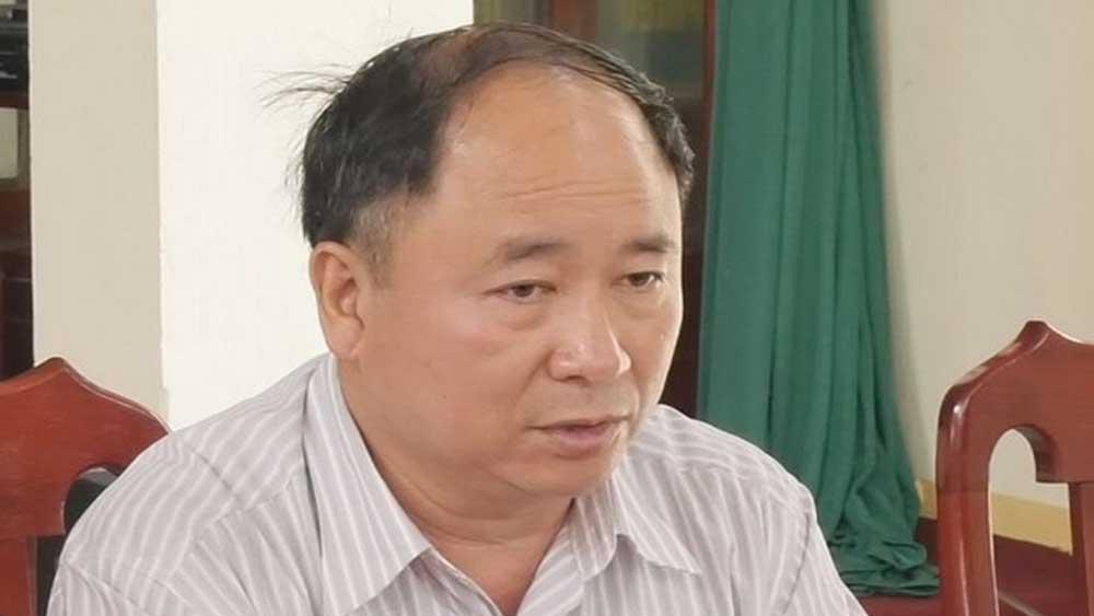Cách chức, Phó Giám đốc Sở Tài nguyên và Môi trường, tỉnh Lạng Sơn