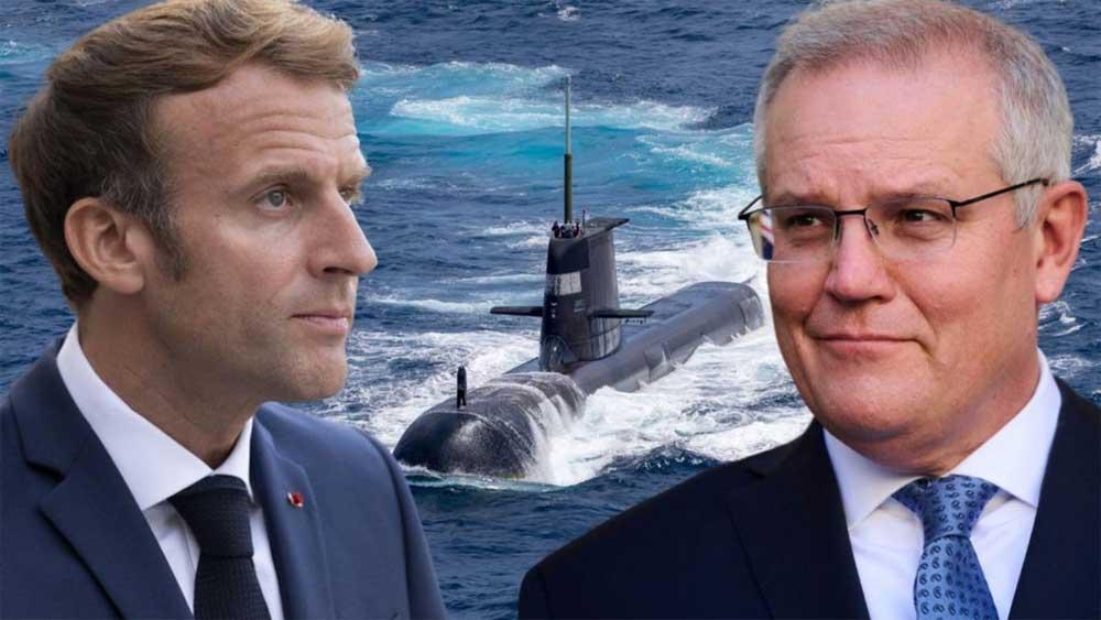 Australia, phản ứng, Pháp triệu hồi Đại sứ