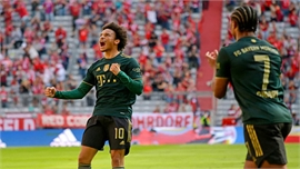 Bayern thắng 7-0 ở Bundesliga