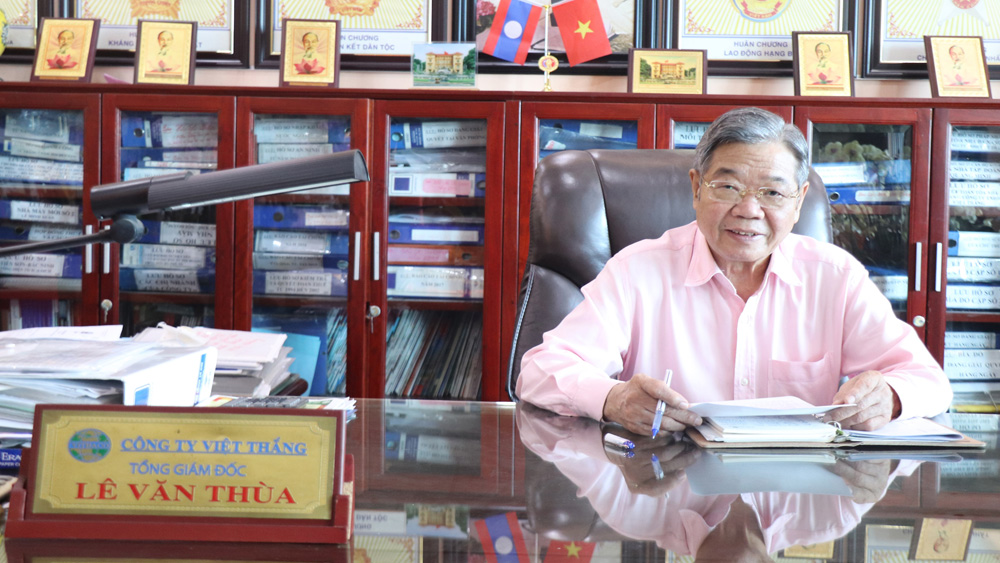 người cao tuổi, Bắc Giang,  Lê Văn Thùa, Tổng Giám đốc Công ty TNHH Việt Thắng, Đỗ Thành Đồng, Chủ tịch Hội đồng thành viên Công ty TNHH Gạch Bích Động
