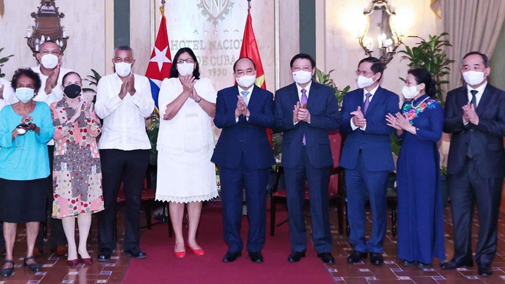 Chủ tịch nước Nguyễn Xuân Phúc, tổ chức hữu nghị Cuba-Việt Nam