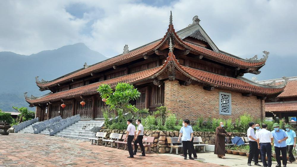 du lịch Bắc Giang, du lịch, Tây Yên Tử