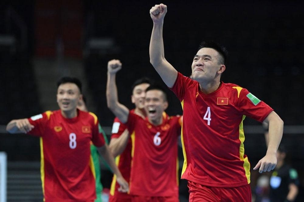 ĐT Futsal Việt Nam lọt vào vòng 1/8
