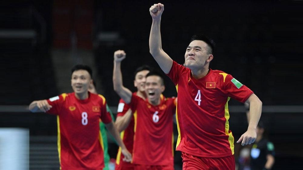 Xuất sắc cầm hòa Czech, ĐT Futsal Việt Nam lọt vào vòng 1/8  Futsal World Cup 2021