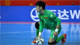 Thủ môn Văn Ý hạnh phúc với chiến thắng của đội tuyển Việt Nam