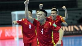 Việt Nam gặp Nga ở vòng 1/8 Futsal World Cup