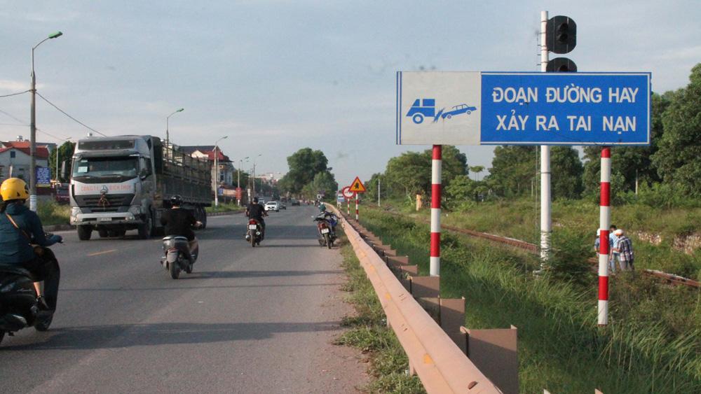 an toàn giao thông, tai nạn giao thông, cảnh sát giao thông, Bắc Giang