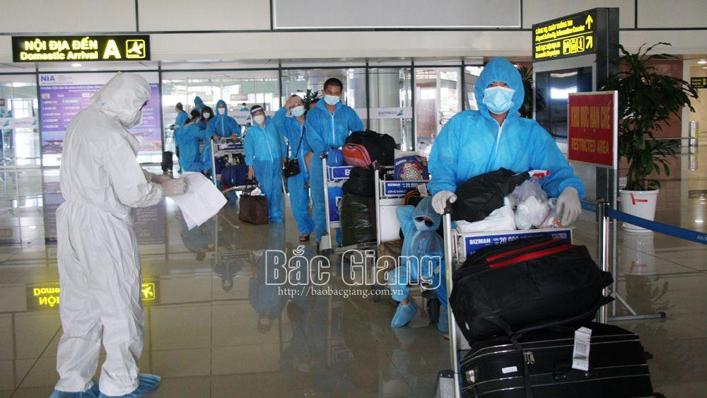 Bắc Giang sẽ đón thêm gần 900 công dân từ các tỉnh, thành phố phía Nam về quê
