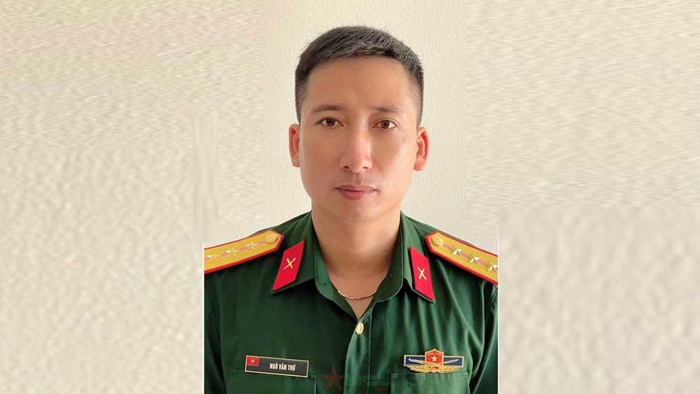 Bộ trưởng Phan Văn Giang, gửi thư khen, Thượng úy QNCN Ngô Văn Thứ