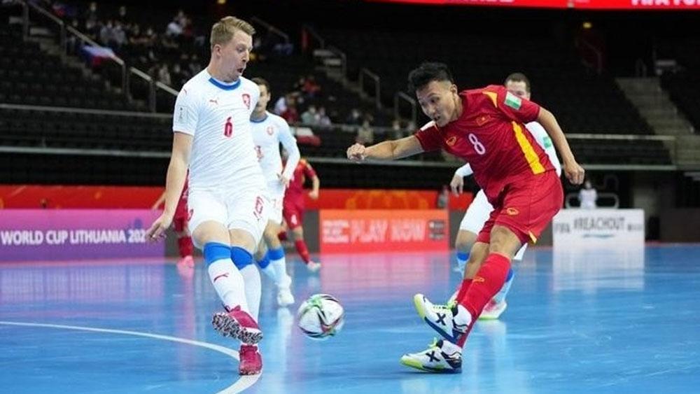 FIFA Futsal World Cup: Czech Republic draw sends Vietnam through to Round of 16