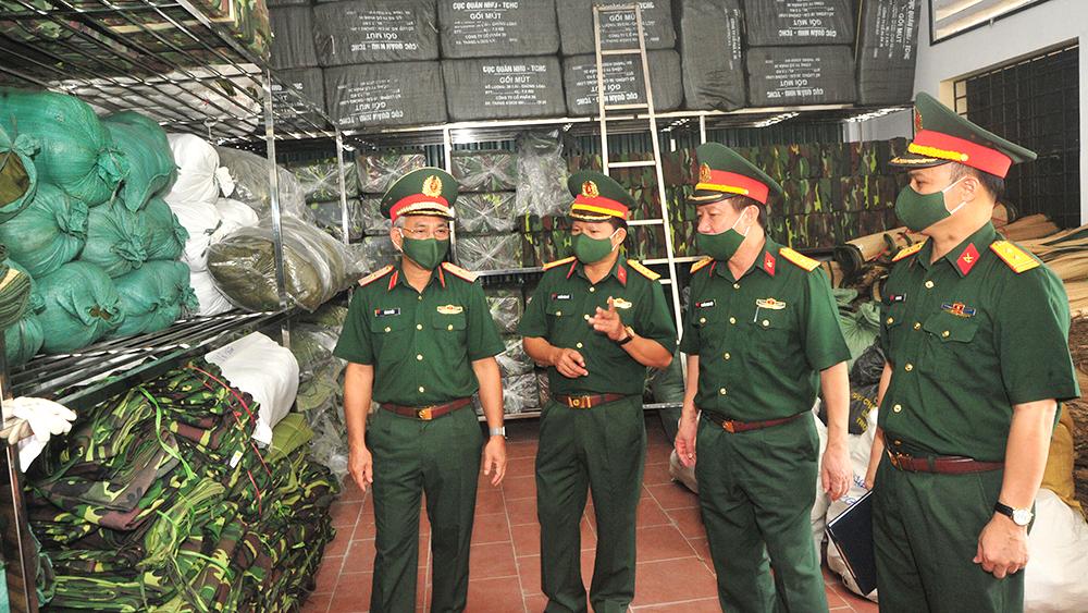 Quân khu 1 kiểm tra công tác phòng, chống dịch Covid-19 tại tỉnh Bắc Giang