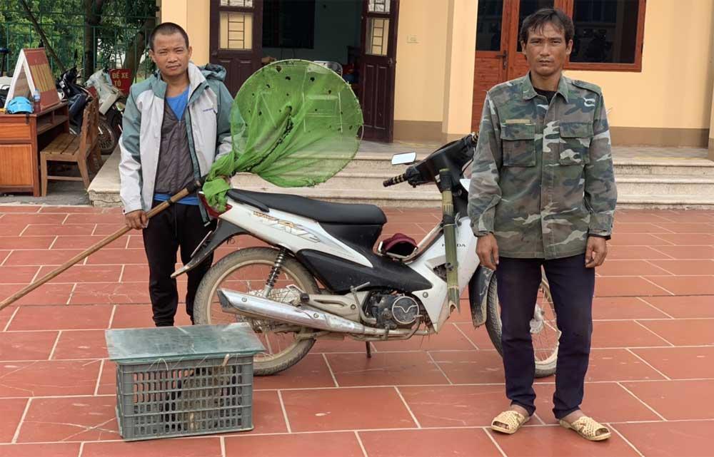 Yên Thế, Công an xã An Thượng, phát hiện, 2 đối tượng trộm cắp tài sản