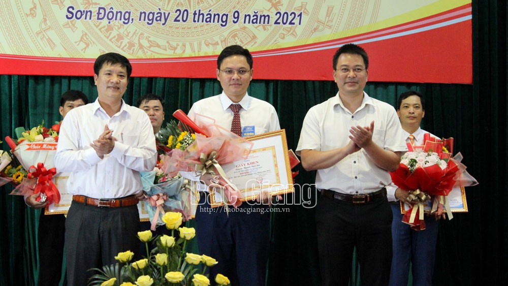 báo cáo viên; Sơn Động; Bắc Giang