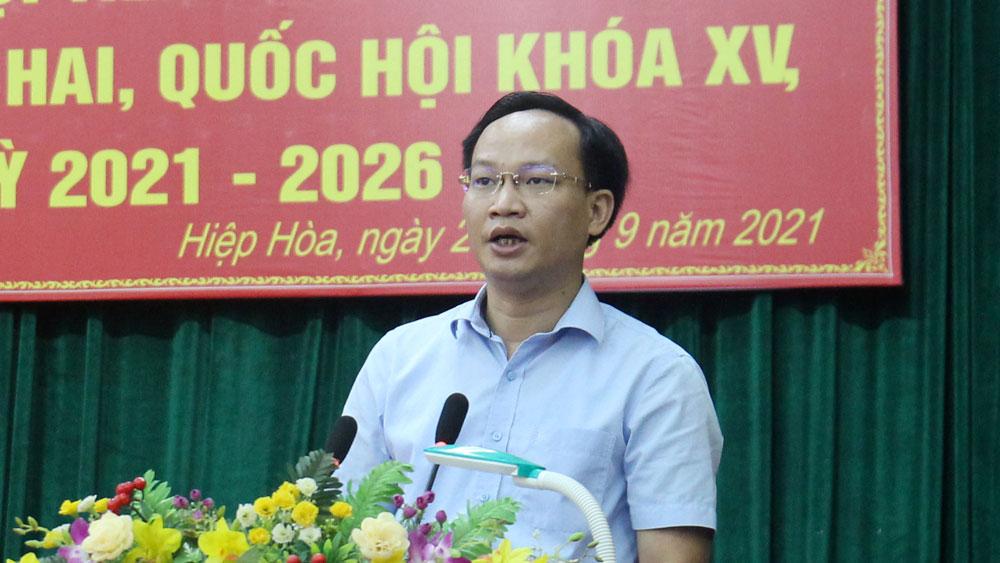 Bắc Giang, tiếp xúc cử tri, đại biểu quốc hội