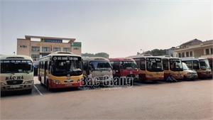Tuyến xe buýt Bắc Giang - Cầu Gồ hoạt động trở lại