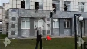 Nổ súng chết người ở đại học Nga, sinh viên hoảng sợ trèo cửa sổ thoát thân