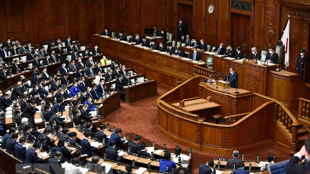 Nhật Bản, công bố, thời điểm, bầu thủ tướng mới, thời gian, dự kiến, tổ chức tổng tuyển cử