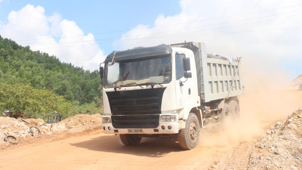 Bắc Giang, xe quá tải, điểm mỏ