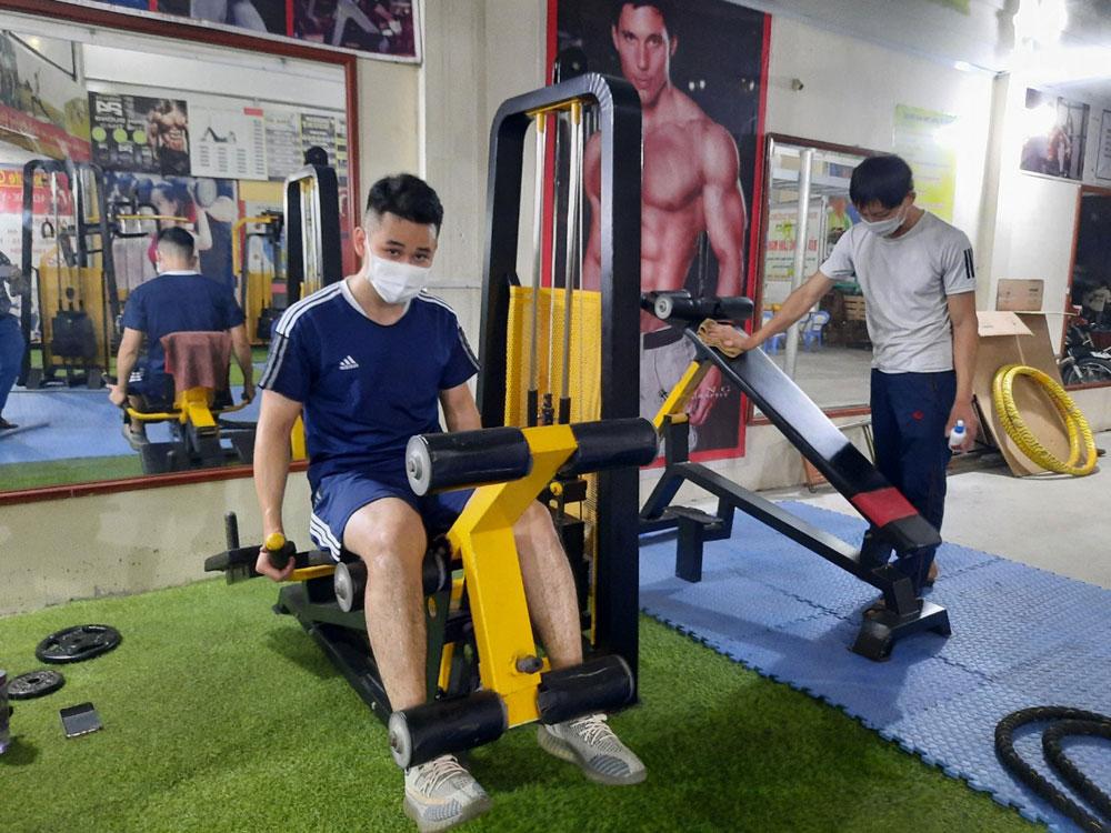 Bắc Giang, Covid-19, phòng dịch , thể dục, thể thao