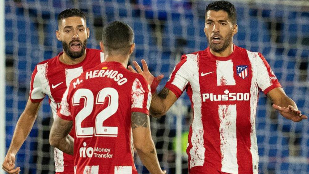 Atletico thắng ngược nhờ cú đúp của Suarez
