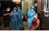 Cán bộ y tế Bắc Giang, Nam Định, Ninh Bình thâu đêm hỗ trợ Hà Nam lấy mẫu xét nghiệm SARS-CoV -2