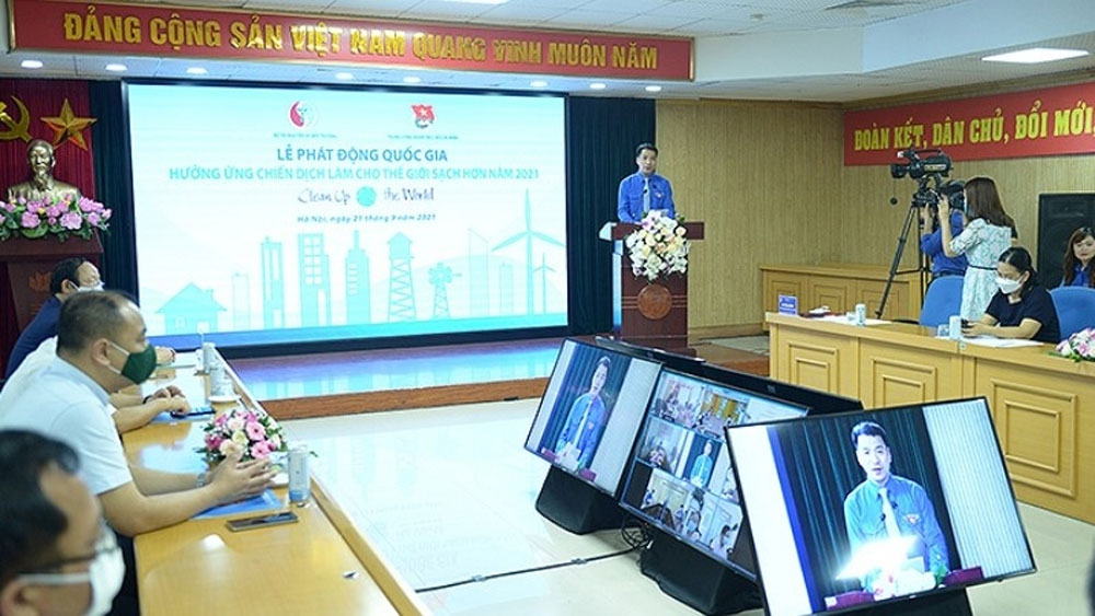 """Vietnam launches """"Clean up the World"""" campaign"""