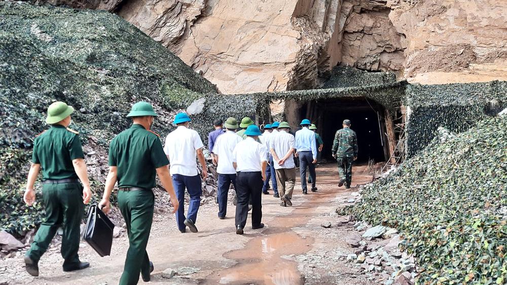 Ban Chỉ đạo PT-21, Bắc Giang, giao nhiệm vụ diễn tập khu vực phòng thủ cho huyện Yên Thế