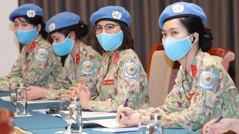 Vietnam, pay attention, gender equality issues, female soldiers, peace and security, peacekeeping operations