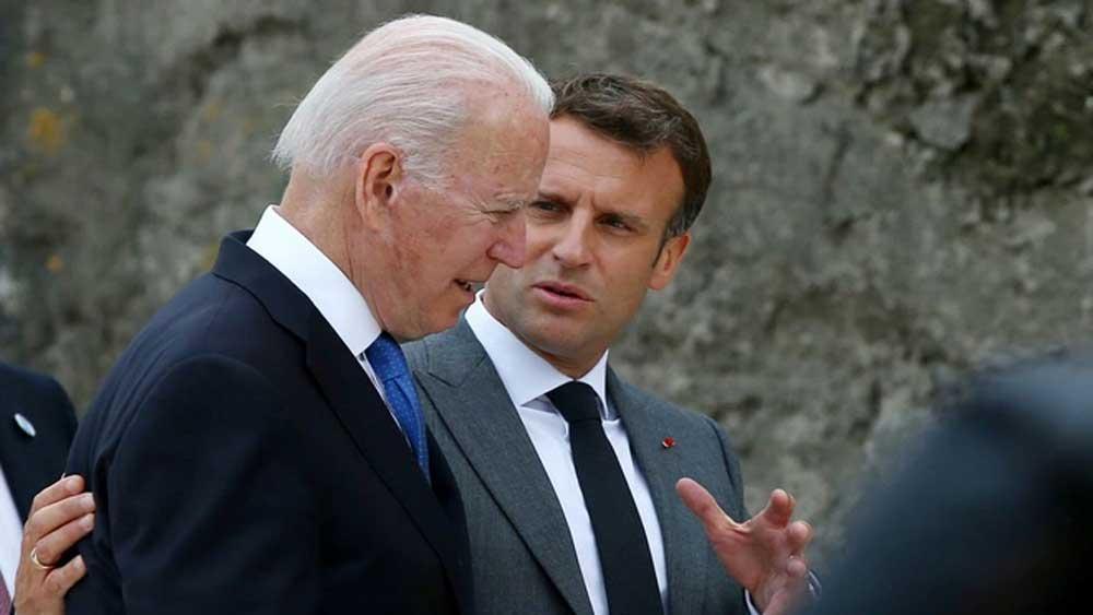 Mỹ - Pháp , làm lành, khủng hoảng ngoại giao, thỏa thuận tàu ngầm