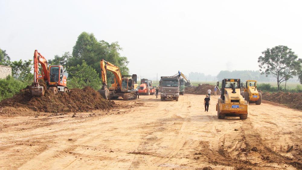 Bắc Giang, dự án trọng điểm, nguồn lực, đẩy nhanh tiến độ