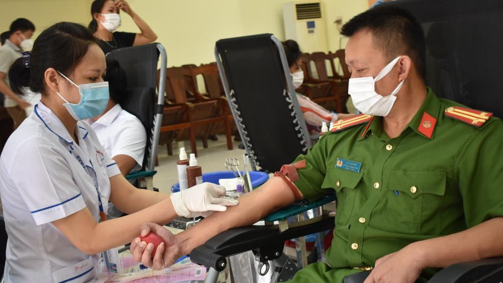 Tân Yên, Bắc Giang, ngày hội, hiến máu