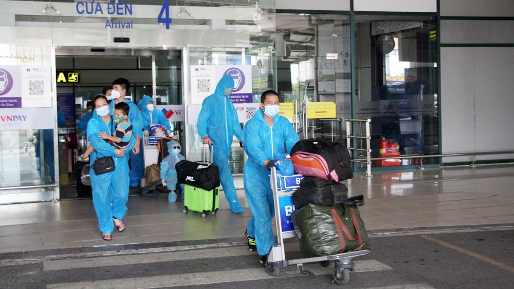 Bắc Giang, công dân, TP Hồ Chí Minh, sân bay, dịch bệnh Covid19