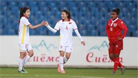 Tuyển nữ Việt Nam thắng 16-0 ở vòng loại Asian Cup