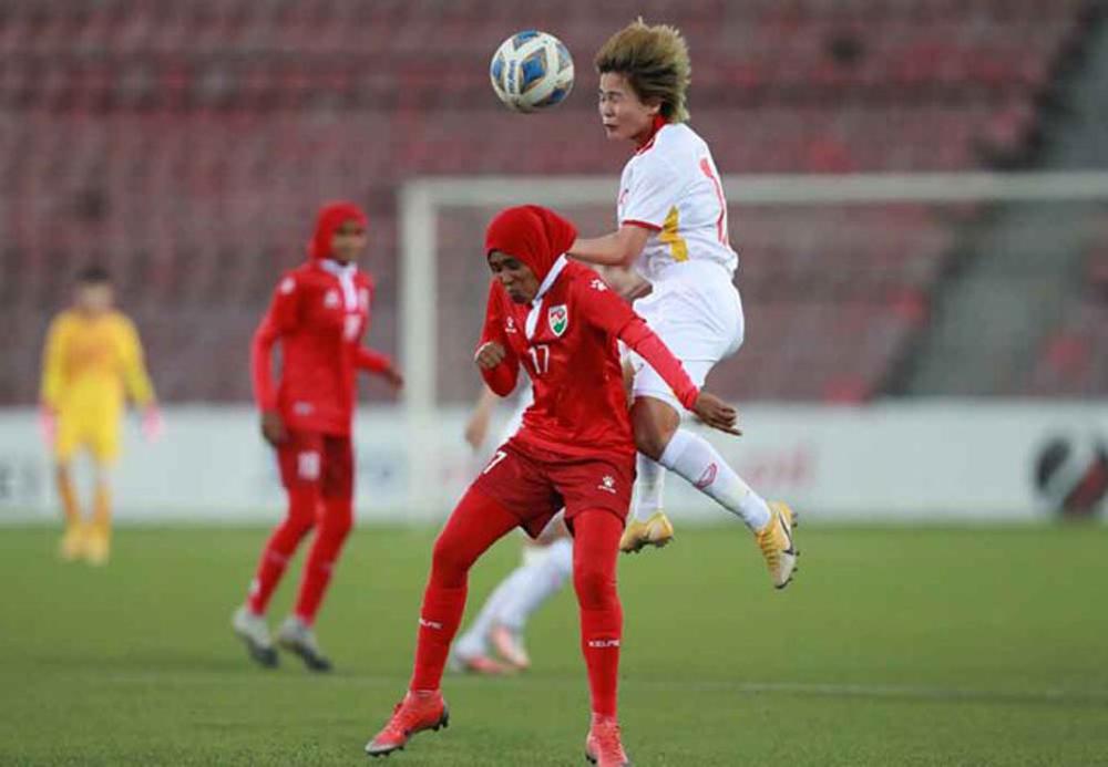 Tuyển nữ Việt Nam,Tajikistan,Maldives,Asian Cup