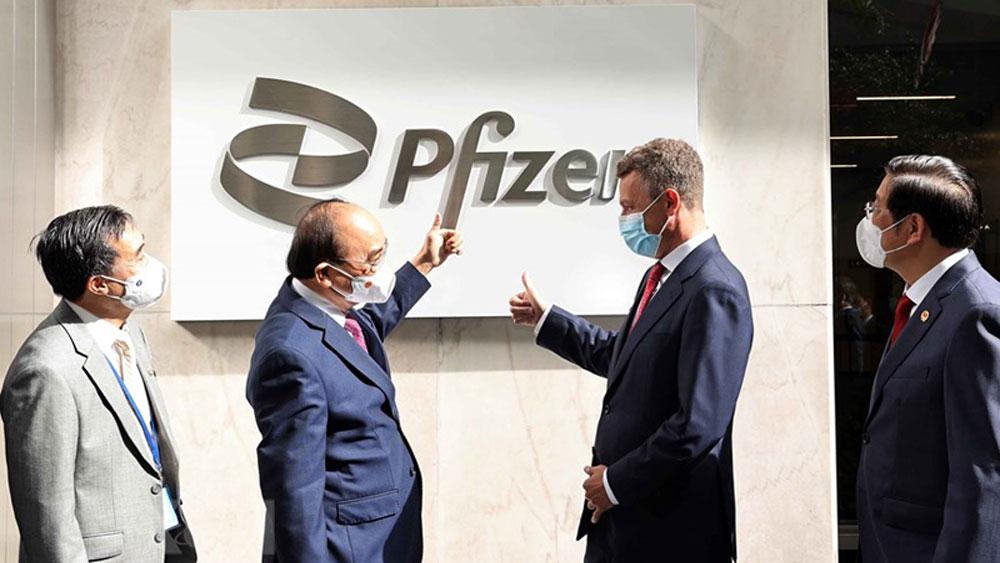 Pfizer, cam kết cung cấp, Việt Nam, đủ 31 triệu liều vaccine ngừa Covid-19