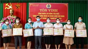 57 công nhân lao động tiêu biểu được tôn vinh, khen thưởng