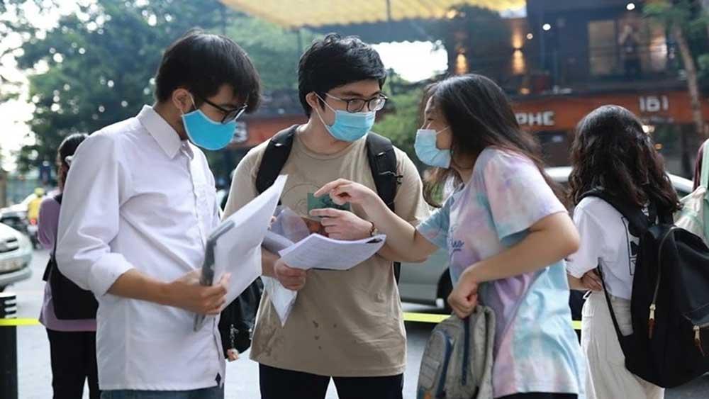 Bổ sung , phương án tuyển sinh, thí sinh , không tham dự kì thi tốt nghiệp THPT, dịch bệnh