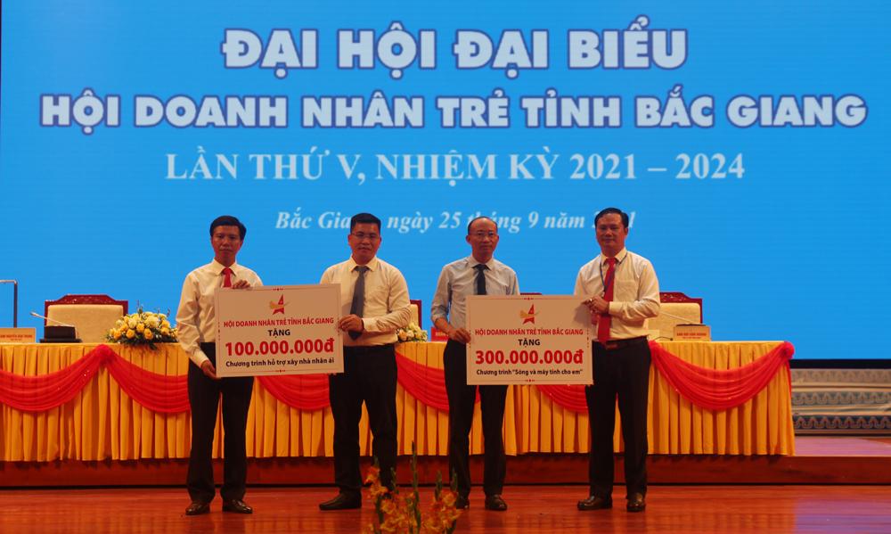 Hội Doanh nhân trẻ, Lưu Tiến Chung, đại hội, bắc giang, daonh nhân trẻ