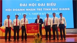 Doanh nhân Lưu Tiến Chung được bầu làm Chủ tịch Hội Doanh nhân trẻ tỉnh Bắc Giang