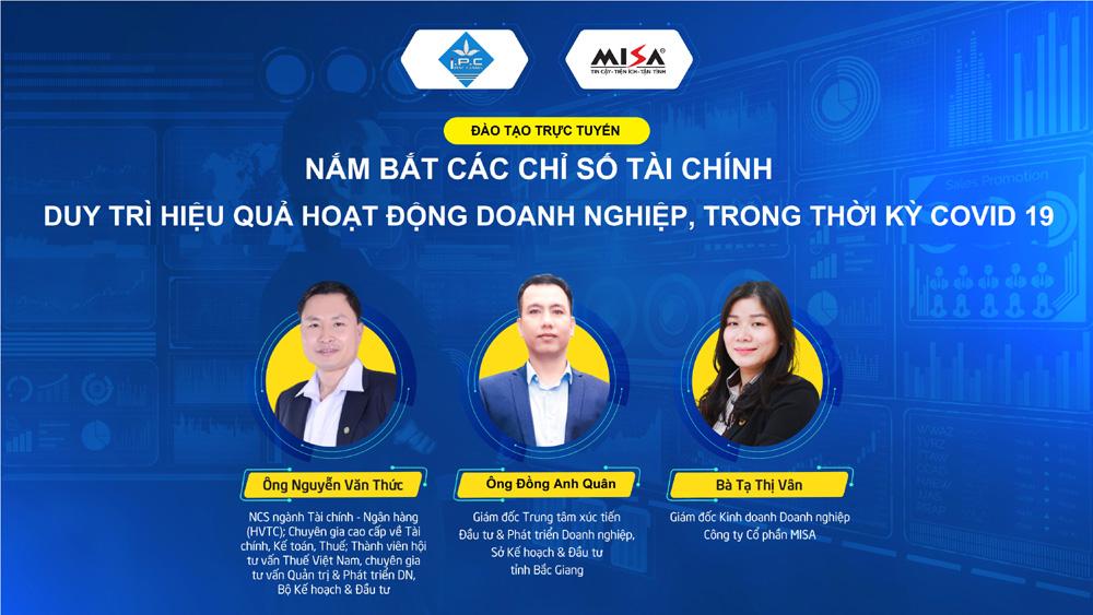 Hỗ trợ, doanh nghiệp, Bắc Giang, nắm bắt, chỉ số, tài chính, duy trì, hiệu quả, hoạt động
