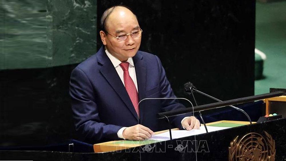 Chủ tịch nước Nguyễn Xuân Phúc; thăm chính thức Cuba; Phiên họp cấp cao Khóa 76 Đại hội đồng LHQ