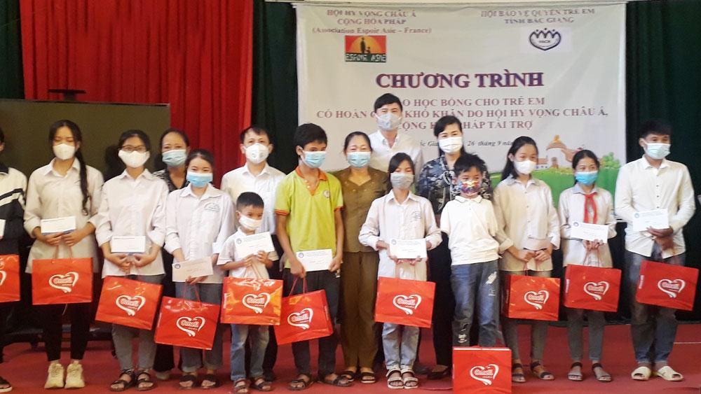 Bắc Giang, chắp cánh ước mơ, Báo Bắc Giang, Hội Bảo vệ quyền trẻ em