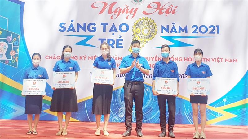 Tỉnh đoàn Bắc Giang tổ chức Ngày hội Sáng tạo trẻ