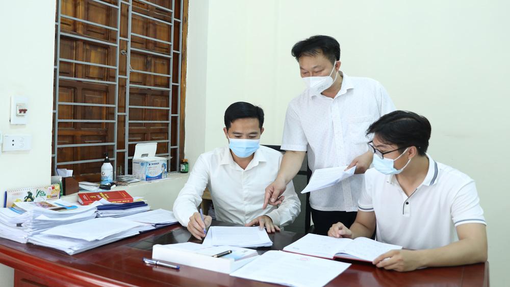 công tác tổ chức cán bộ, Ban Tổ chức Tỉnh ủy, cán bộ quy hoạch, Bắc Giang