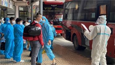 Bắc Giang: 4 trường hợp nhiễm Covid-19 là công dân về từ các tỉnh, TP phía Nam